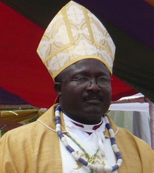 bishop gabriel kumordji for keta akatsi ghana