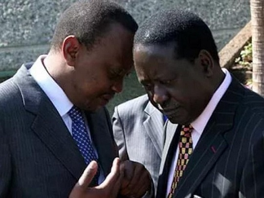 kenyan bishops caution against pr on raila uhuru meeting 2018