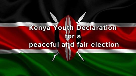 kenyans praying for peaceful elections 2017