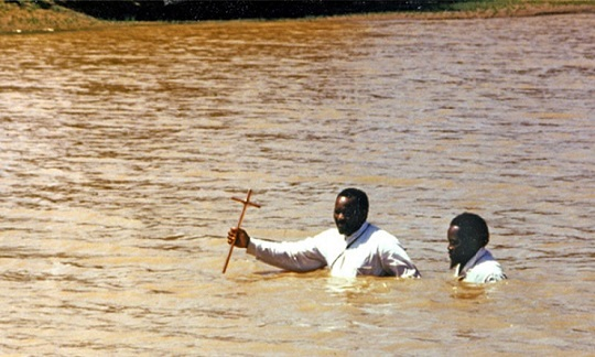 river baptisms in tanzania after two drown