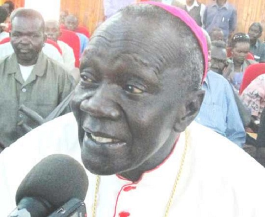 south sudan church mourns bishop deng