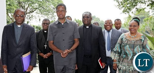 zambia president and bishops meeting jan 2017